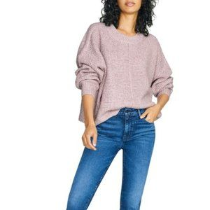 Sanctuary Sorry Not Sorry Marled Lavender Sweater